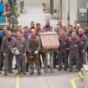500th copper bulged block
