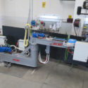 Autosand eaf tap hole inspection and sand filling system factory test